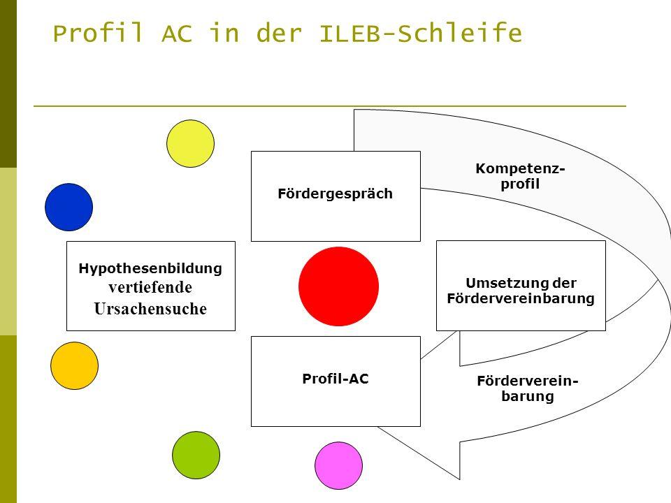 Umsetzung der Fördervereinbarung