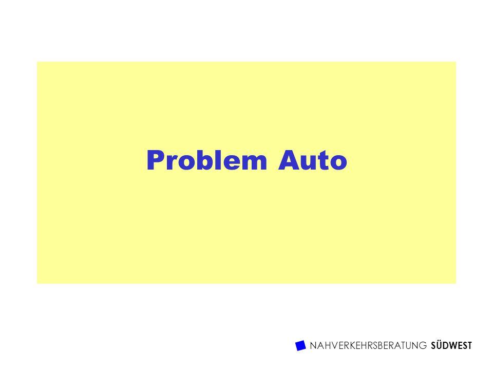 Problem Auto NAHVERKEHRSBERATUNG SÜDWEST