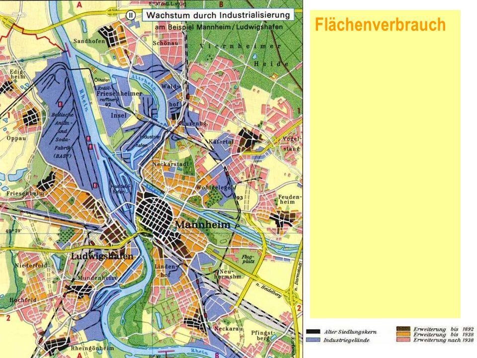 Flächenverbrauch NAHVERKEHRSBERATUNG SÜDWEST