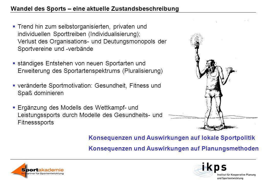 Wandel des Sports – eine aktuelle Zustandsbeschreibung