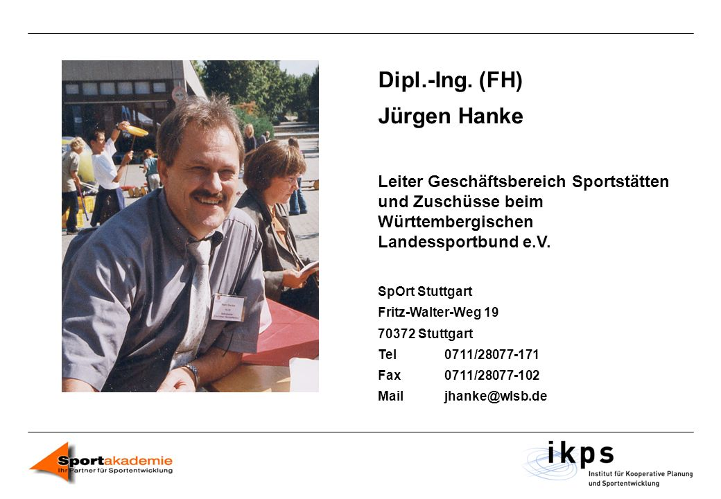 Dipl.-Ing. (FH) Jürgen Hanke