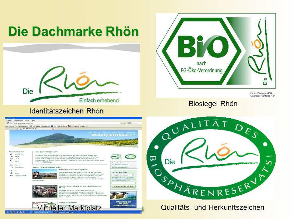 Die Dachmarke Rhön Biosiegel Rhön Identitätszeichen Rhön