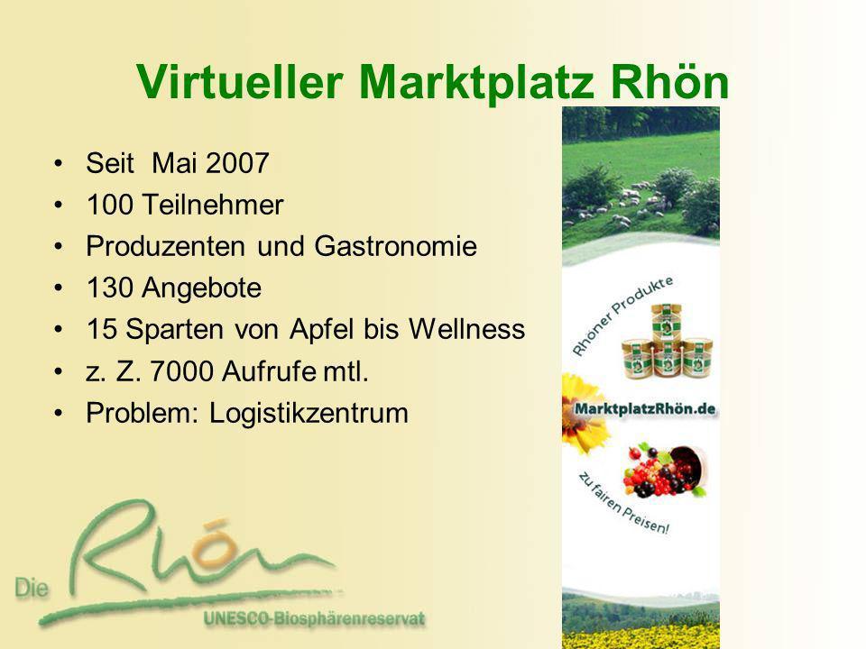 Virtueller Marktplatz Rhön
