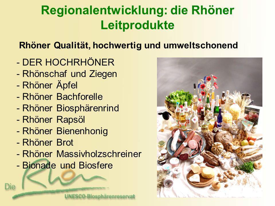 Regionalentwicklung: die Rhöner Leitprodukte