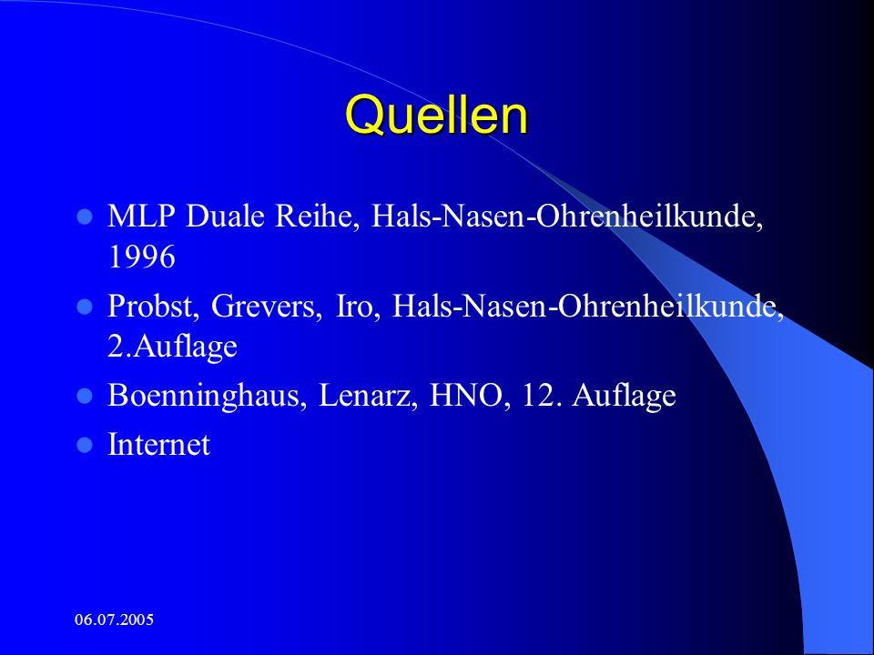 Quellen MLP Duale Reihe, Hals-Nasen-Ohrenheilkunde, 1996