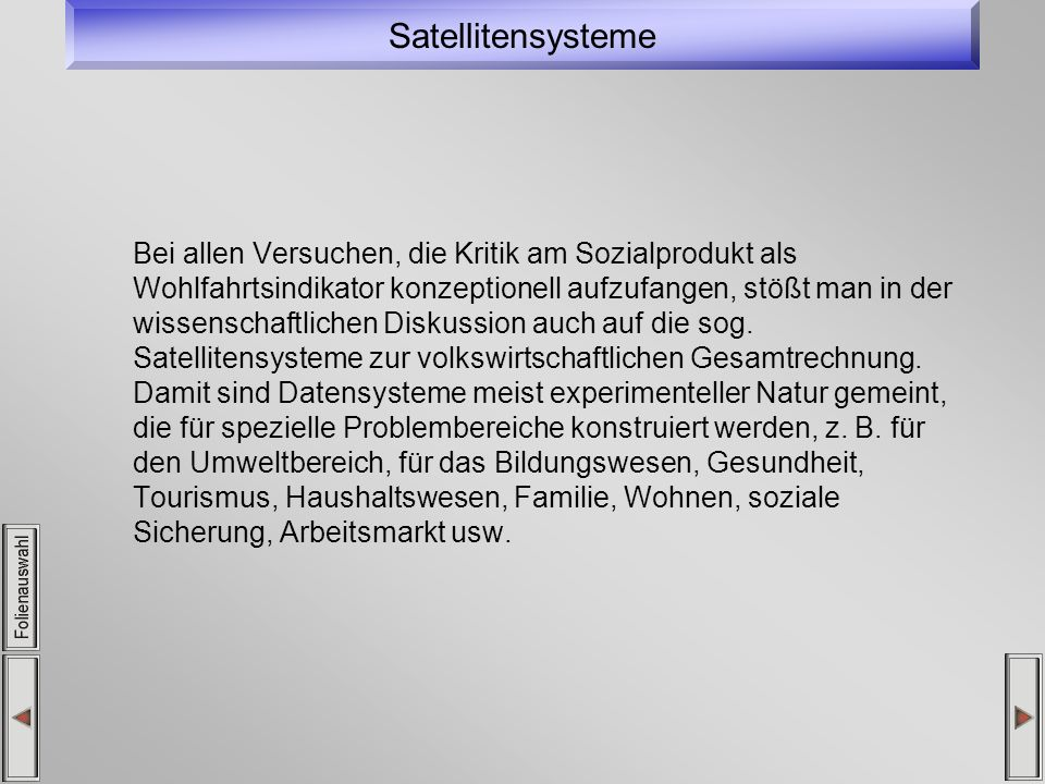 Satellitensysteme