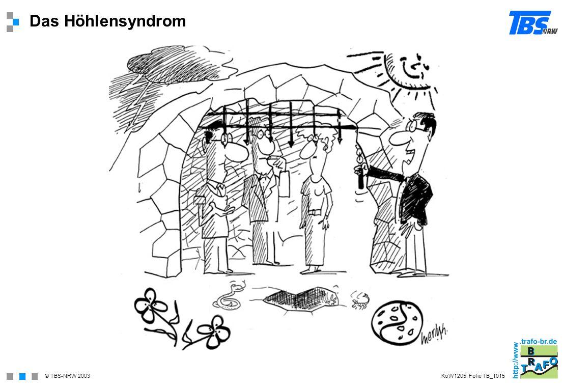 Das Höhlensyndrom KoW1205; Folie TB_1015