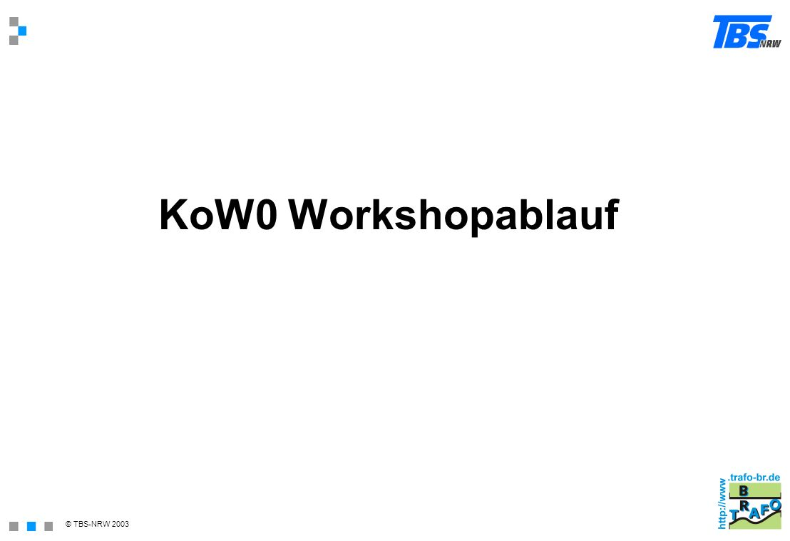 KoW0 Workshopablauf