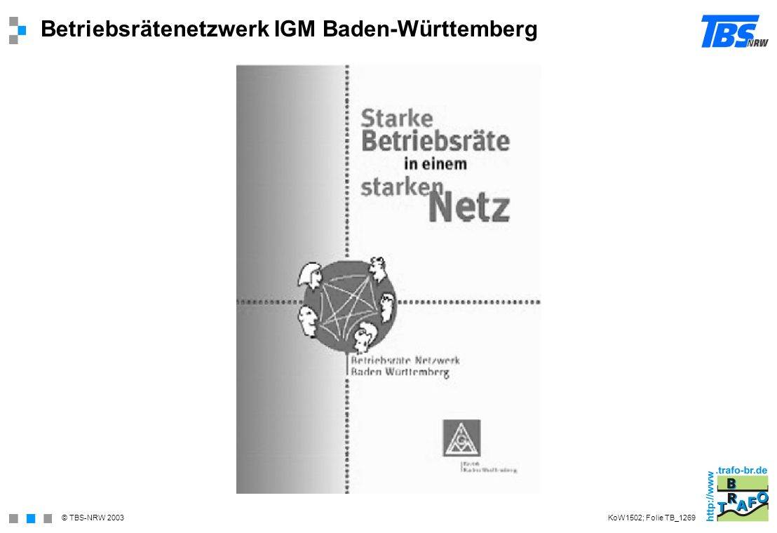 Betriebsrätenetzwerk IGM Baden-Württemberg