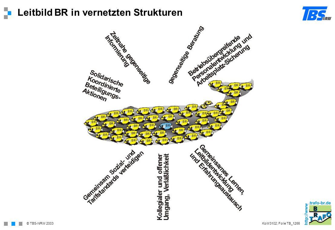 Leitbild BR in vernetzten Strukturen