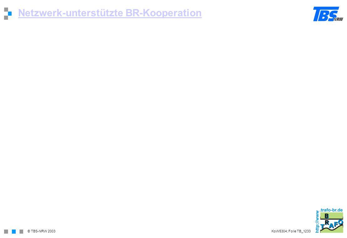 Netzwerk-unterstützte BR-Kooperation