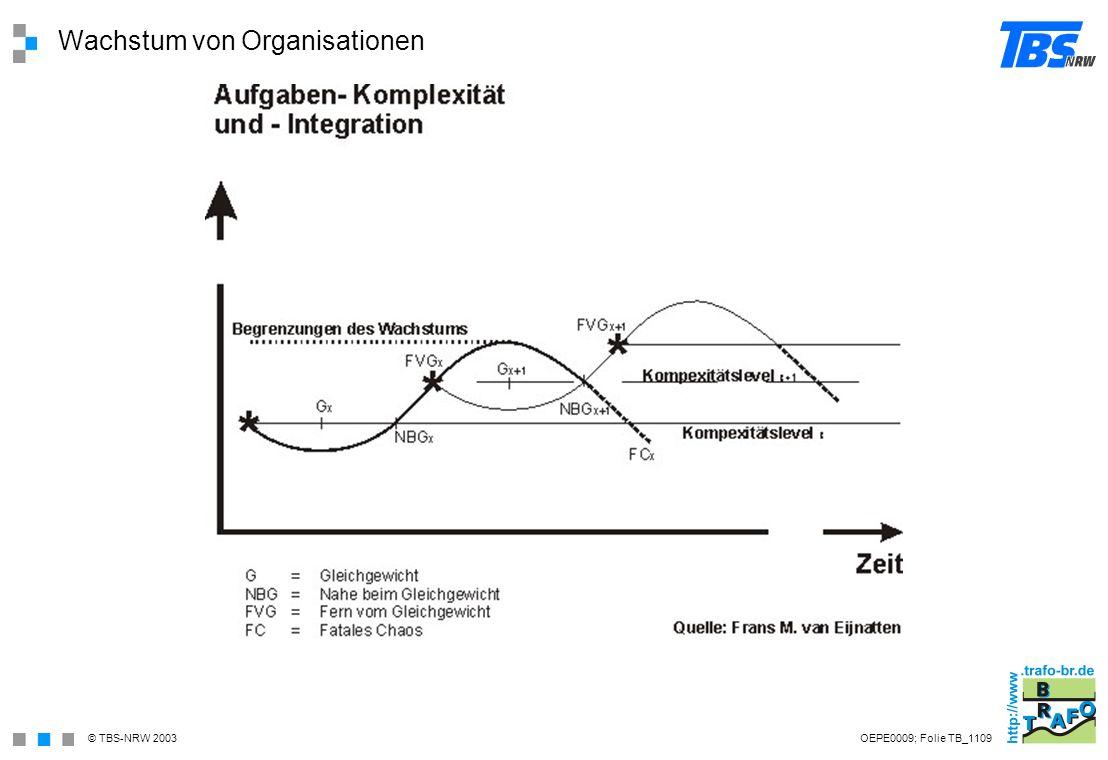Wachstum von Organisationen