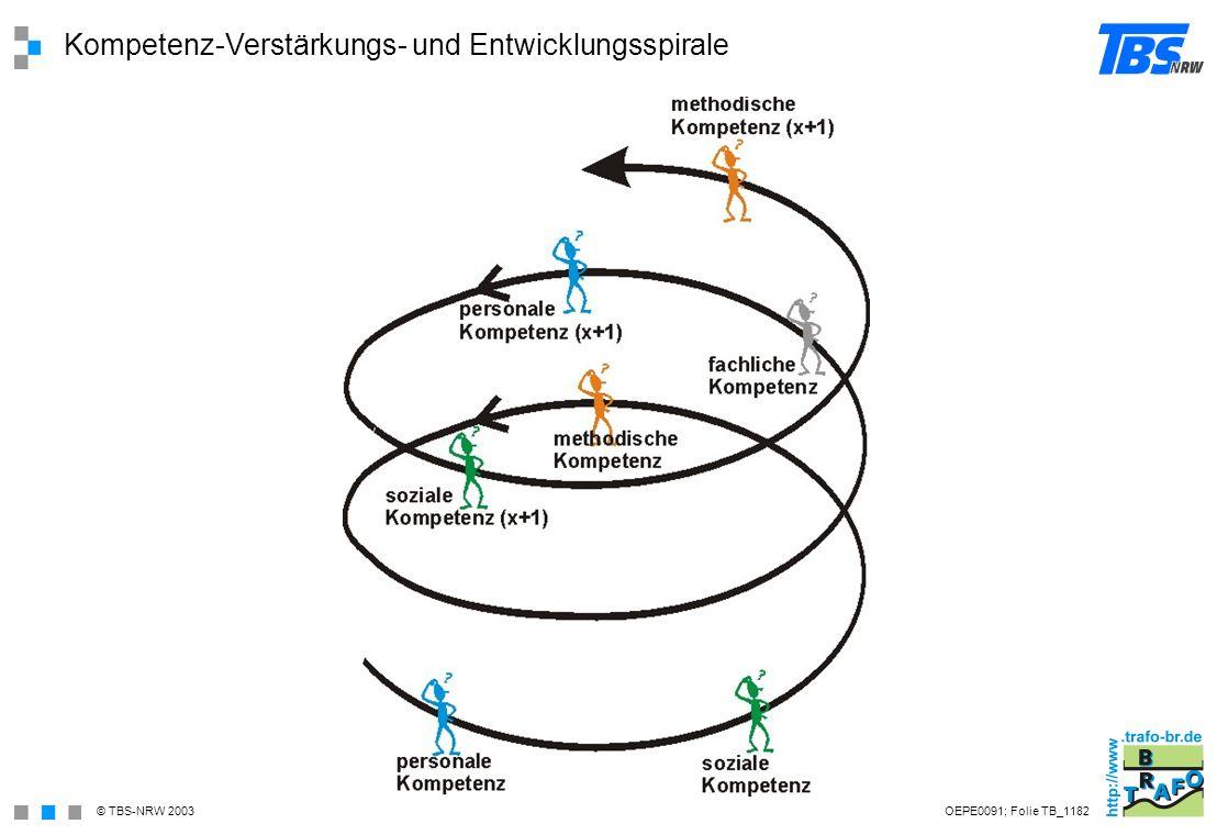 Kompetenz-Verstärkungs- und Entwicklungsspirale