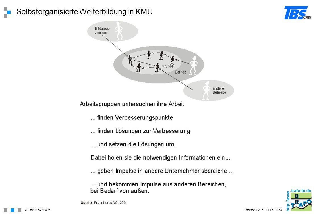 Selbstorganisierte Weiterbildung in KMU