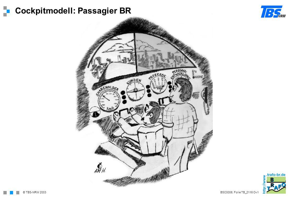Cockpitmodell: Passagier BR