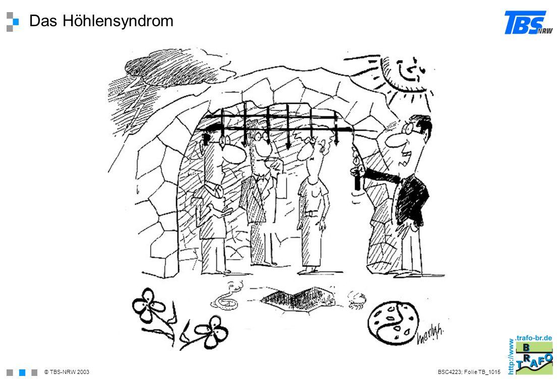 Das Höhlensyndrom BSC4223; Folie TB_1015