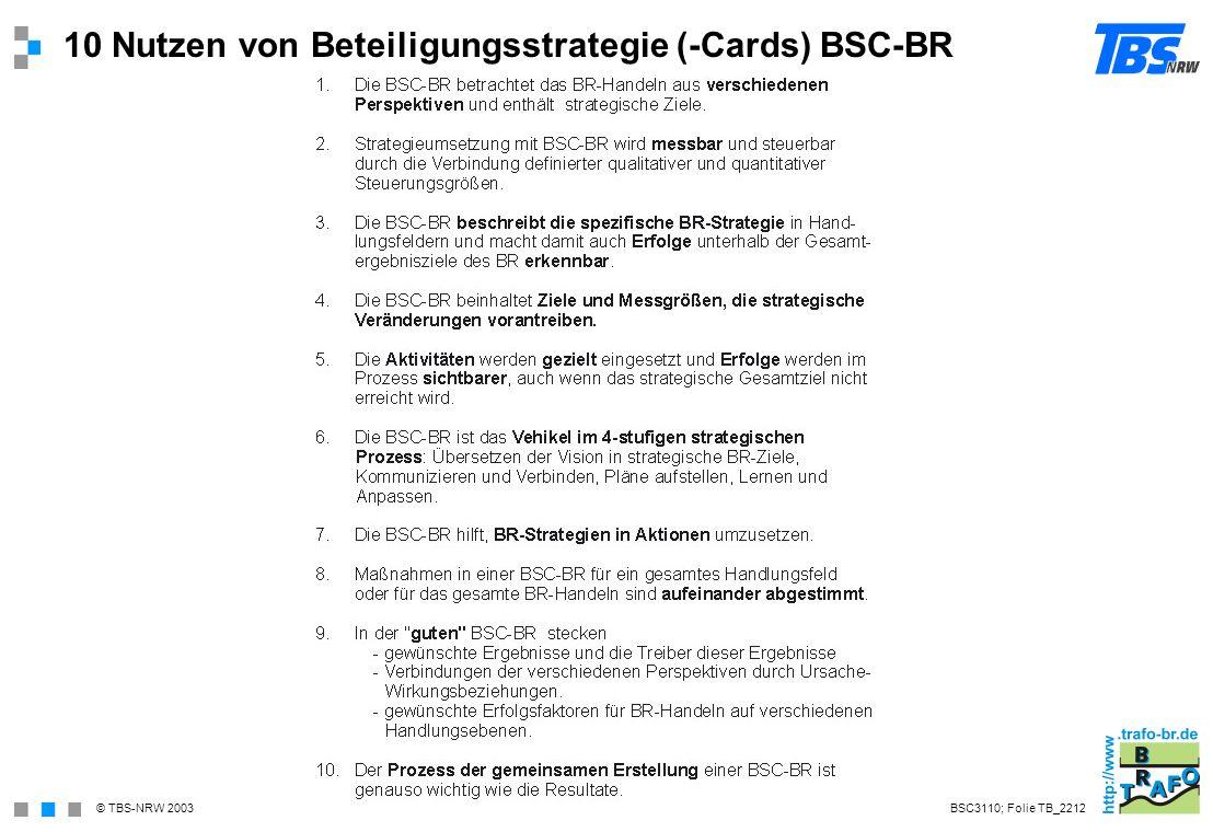 10 Nutzen von Beteiligungsstrategie (-Cards) BSC-BR