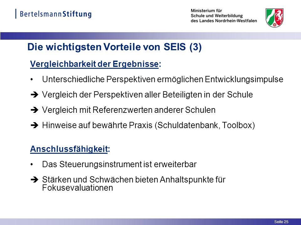 Die wichtigsten Vorteile von SEIS (3)