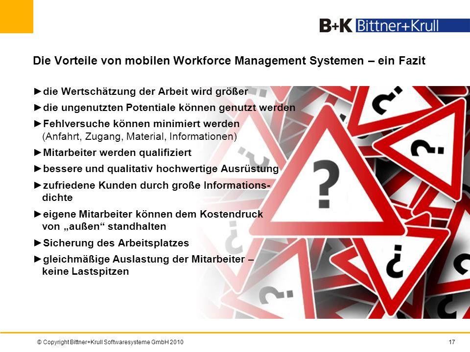 Die Vorteile von mobilen Workforce Management Systemen – ein Fazit