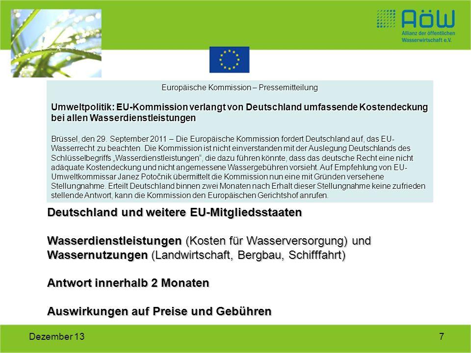 Europäische Kommission – Pressemitteilung