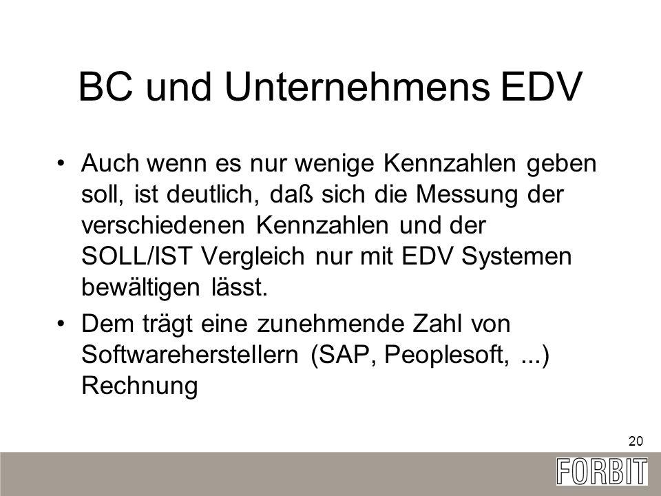 BC und Unternehmens EDV