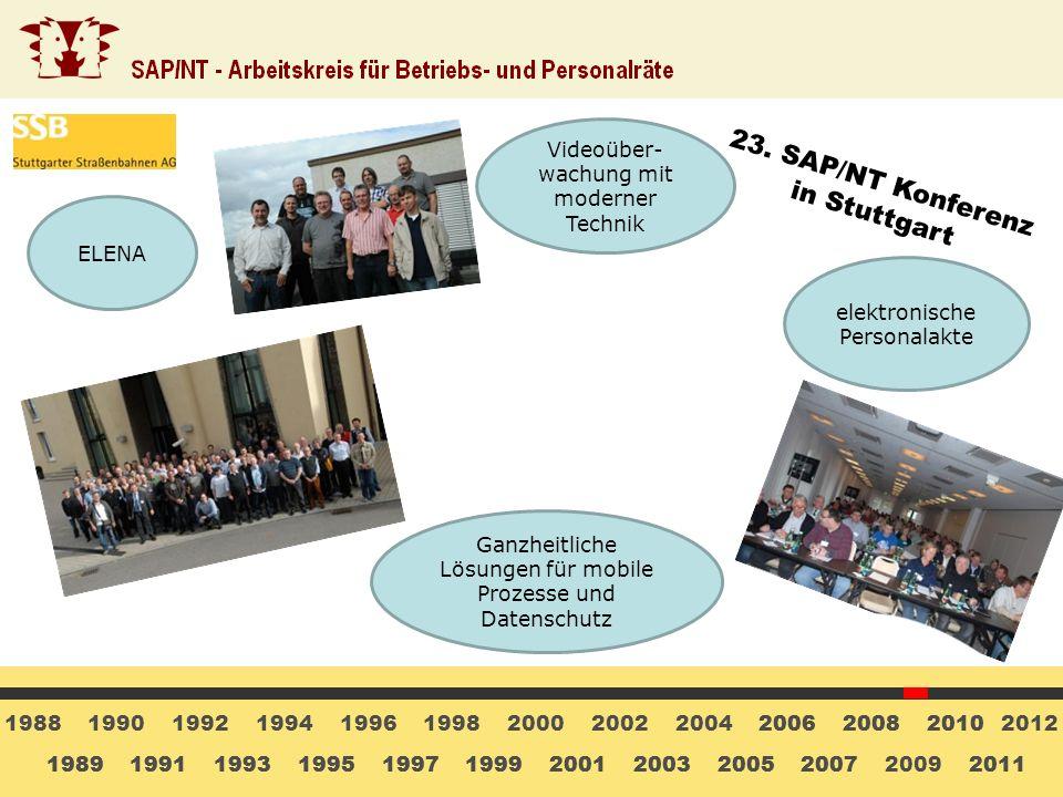 23. SAP/NT Konferenz in Stuttgart