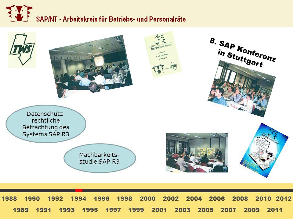 8. SAP Konferenz in Stuttgart