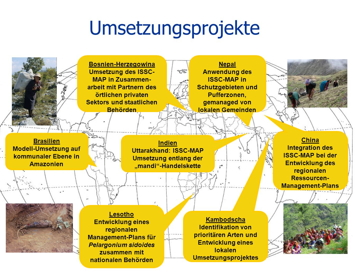 Umsetzungsprojekte Bosnien-Herzegowina