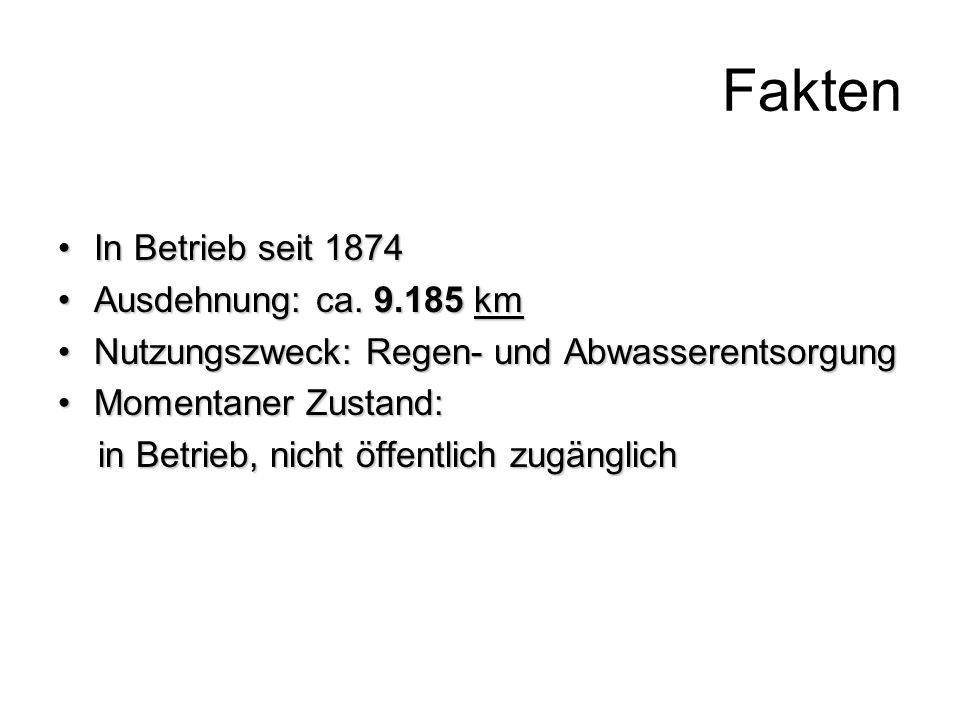 Fakten In Betrieb seit 1874 Ausdehnung: ca. 9.185 km