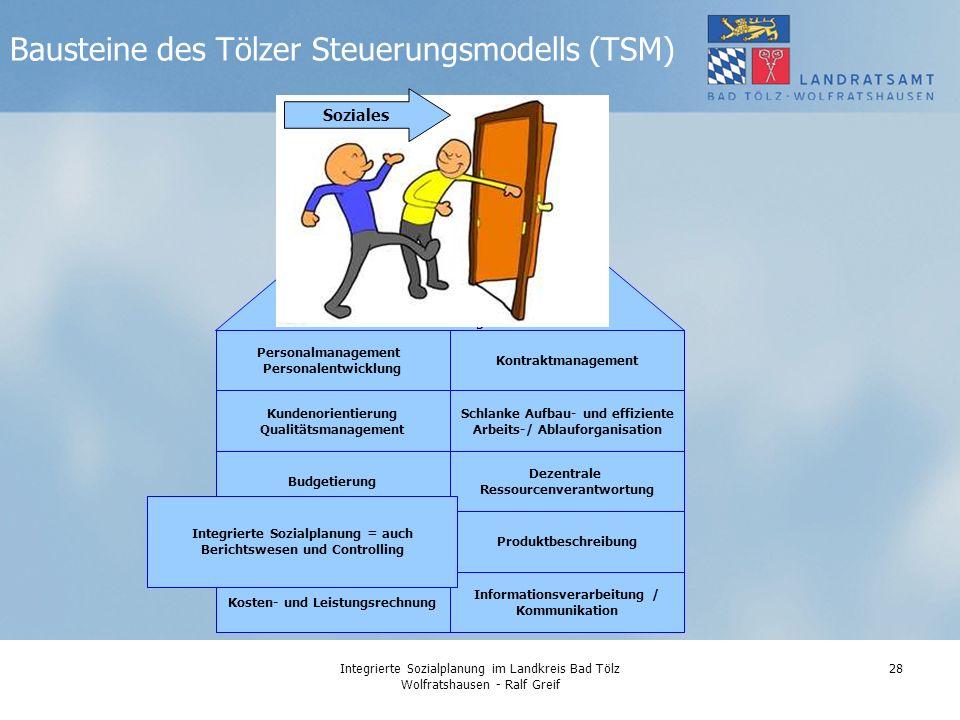 Bausteine des Tölzer Steuerungsmodells (TSM)