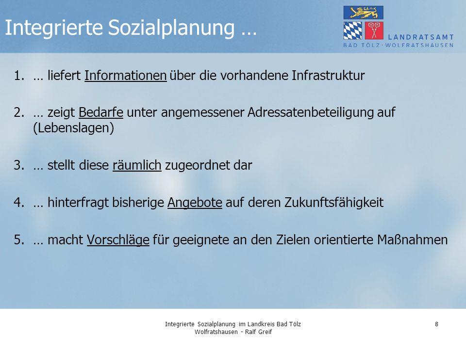 Integrierte Sozialplanung …