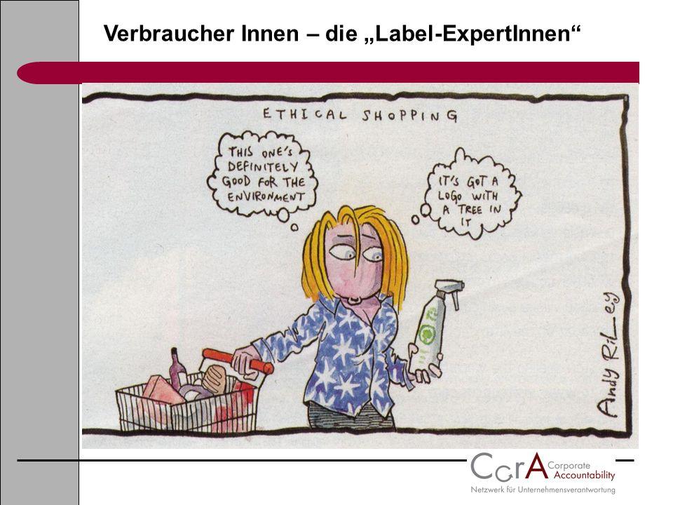 """Verbraucher Innen – die """"Label-ExpertInnen"""