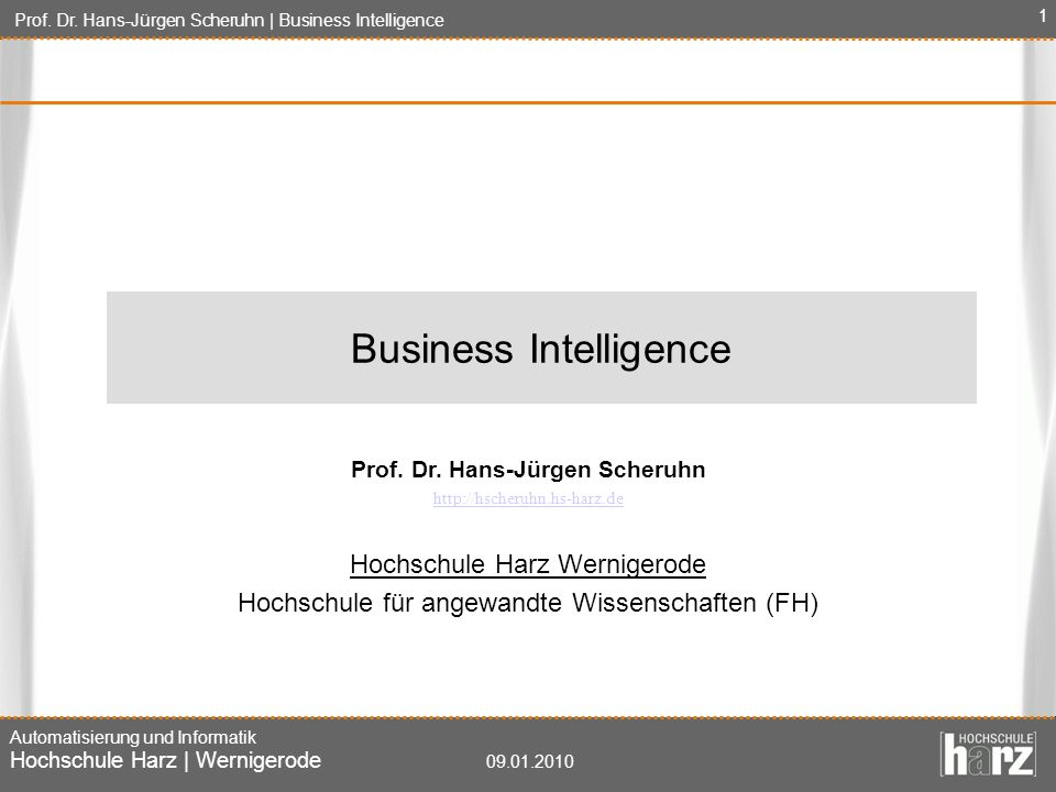 Prof. Dr. Hans-Jürgen Scheruhn