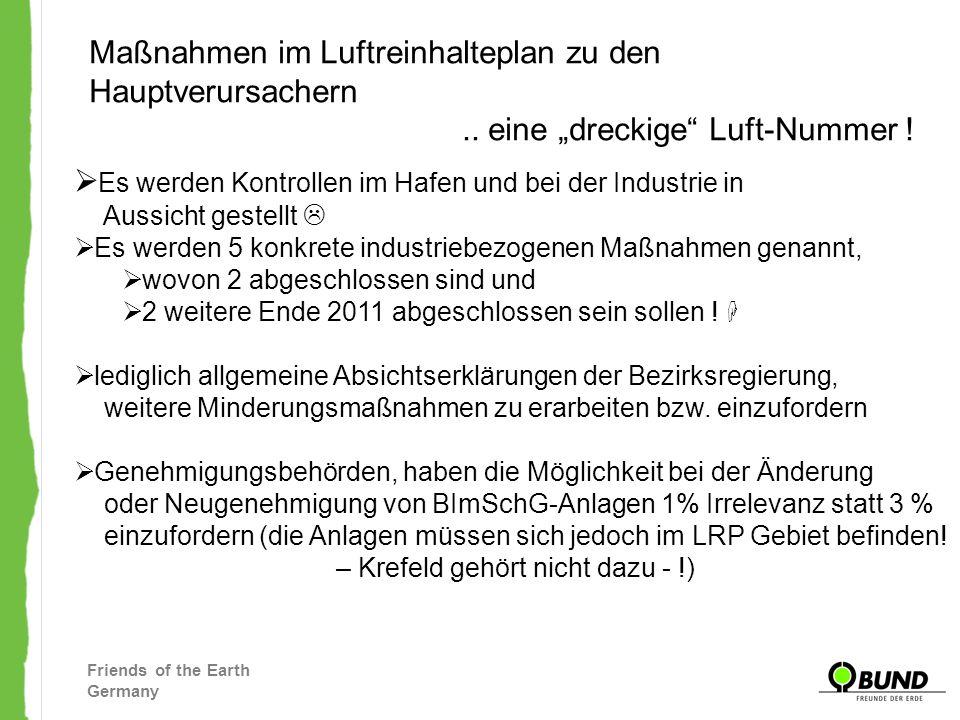 – Krefeld gehört nicht dazu - !)