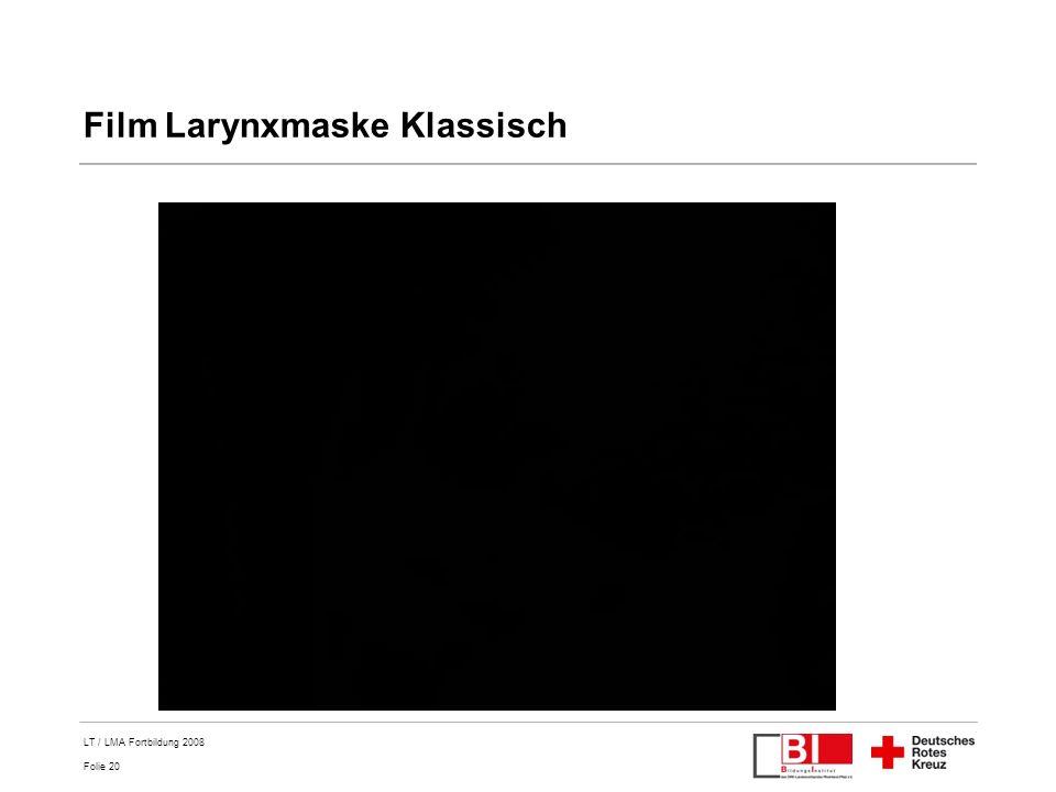 Film Larynxmaske Klassisch