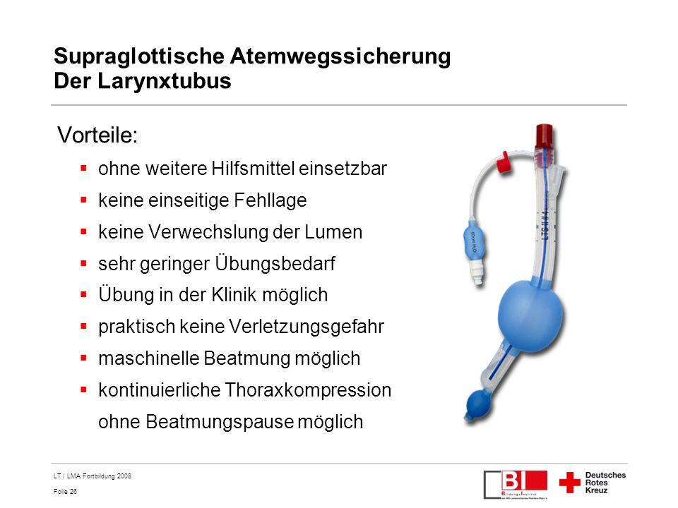 Supraglottische Atemwegssicherung Der Larynxtubus