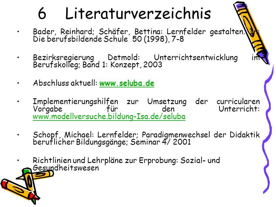 6 Literaturverzeichnis