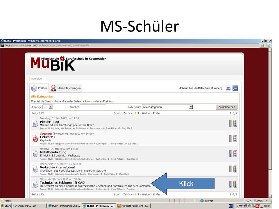 MS-Schüler Klick