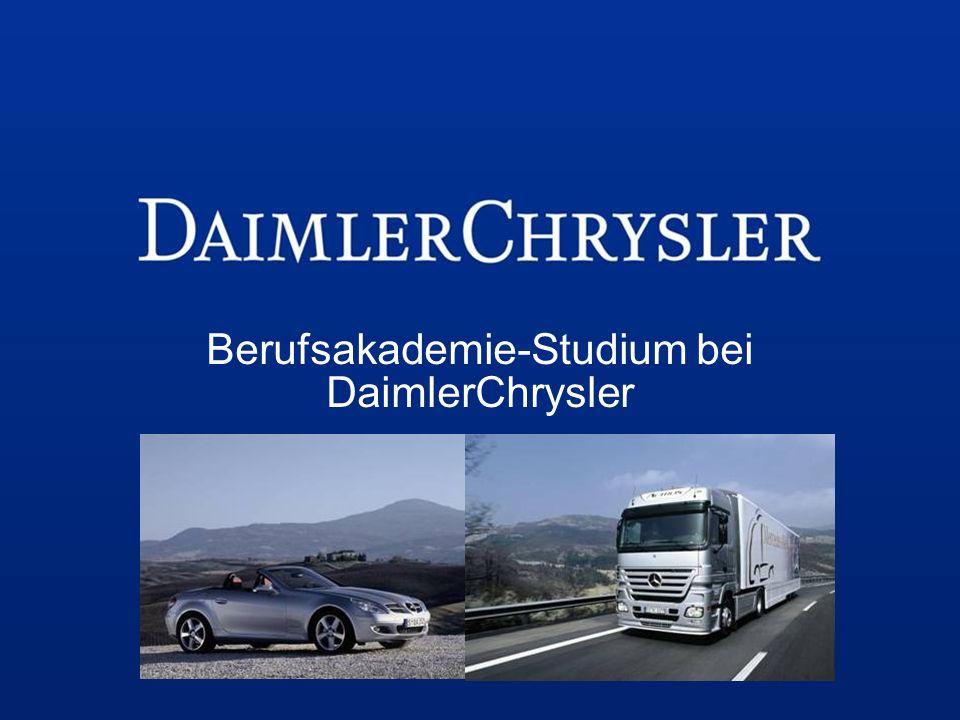Berufsakademie-Studium bei DaimlerChrysler