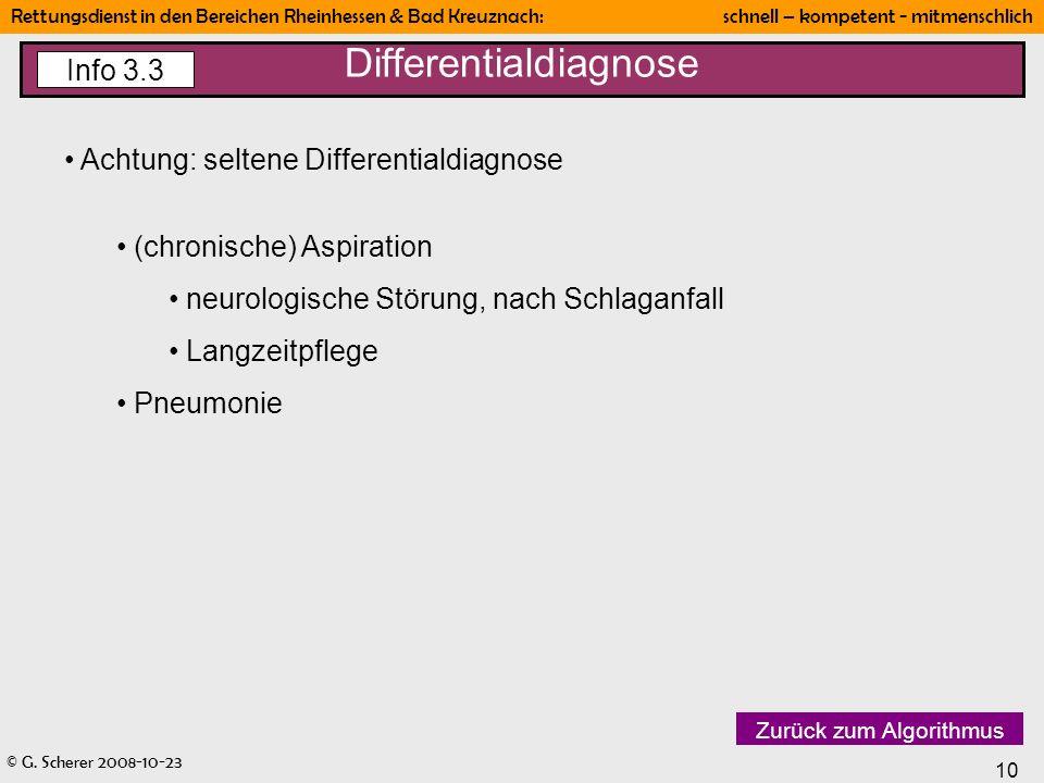 Differentialdiagnose