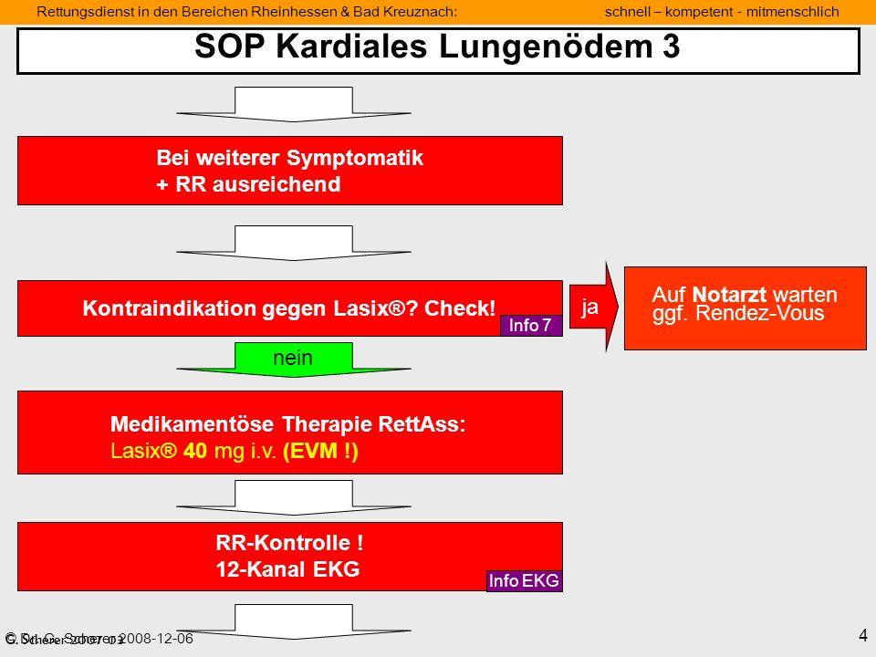 SOP Kardiales Lungenödem 3