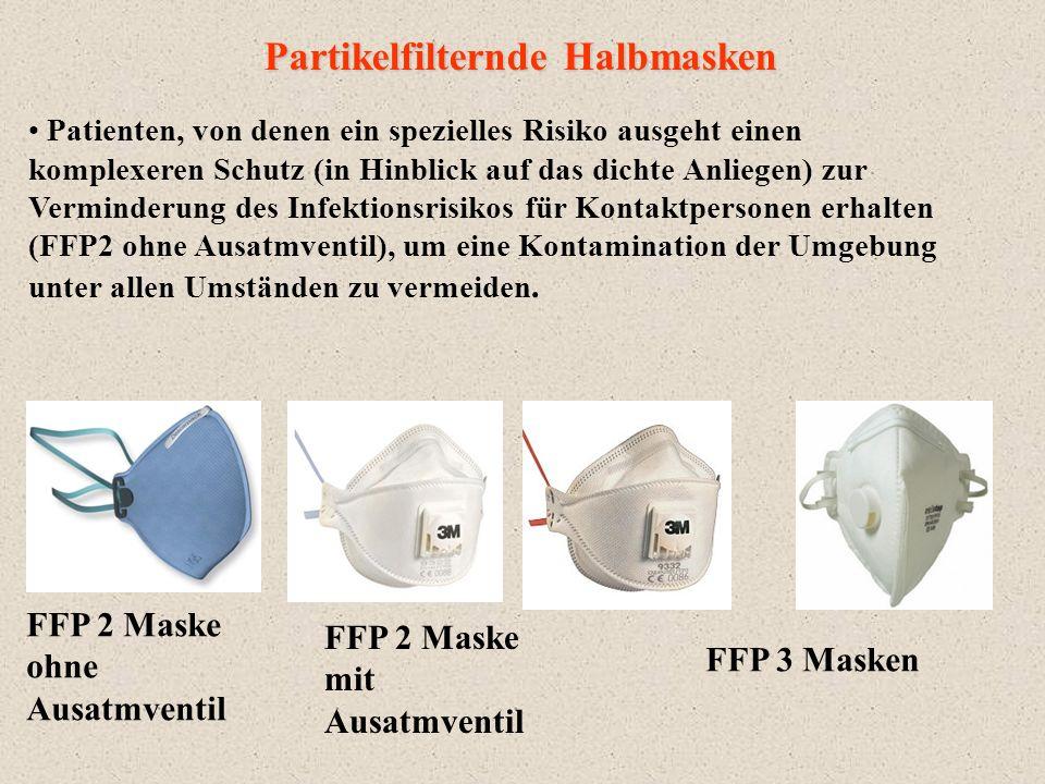Partikelfilternde Halbmasken