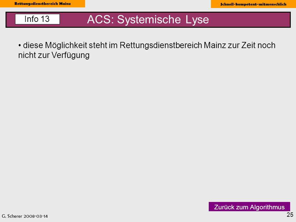 ACS: Systemische Lyse Info 13