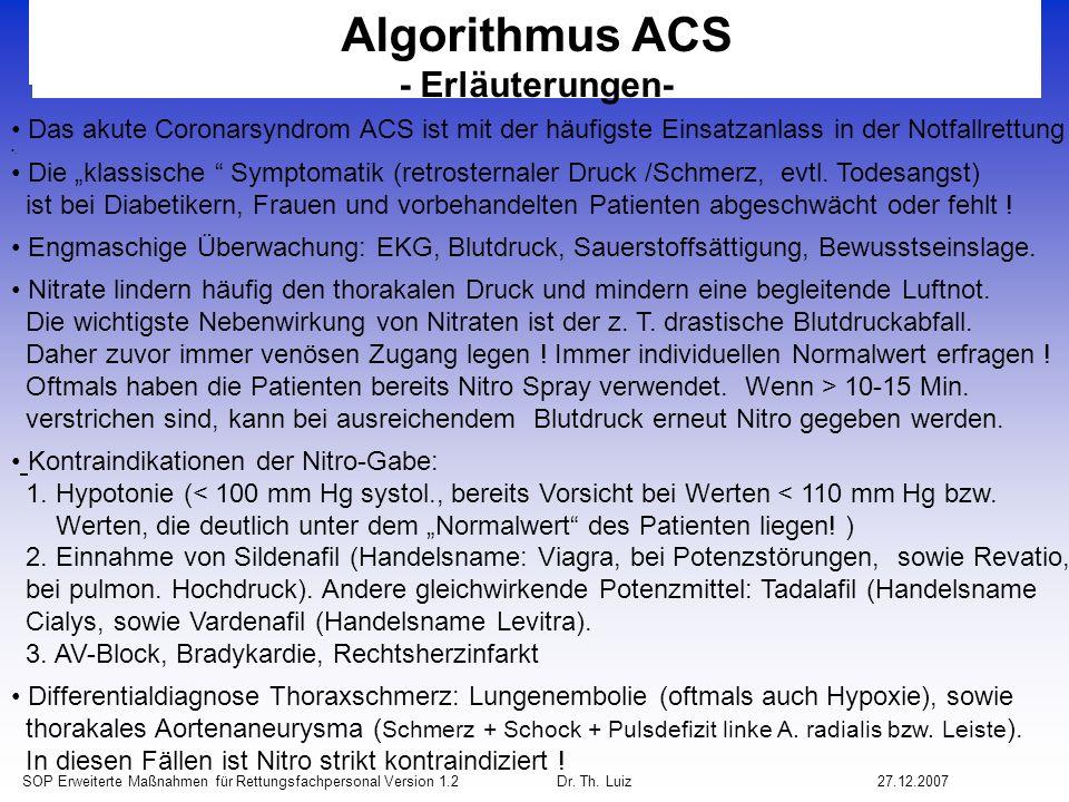 Algorithmus ACS - Erläuterungen-