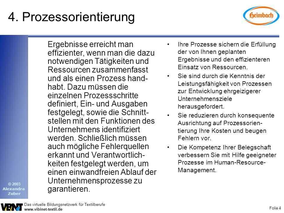 4. Prozessorientierung