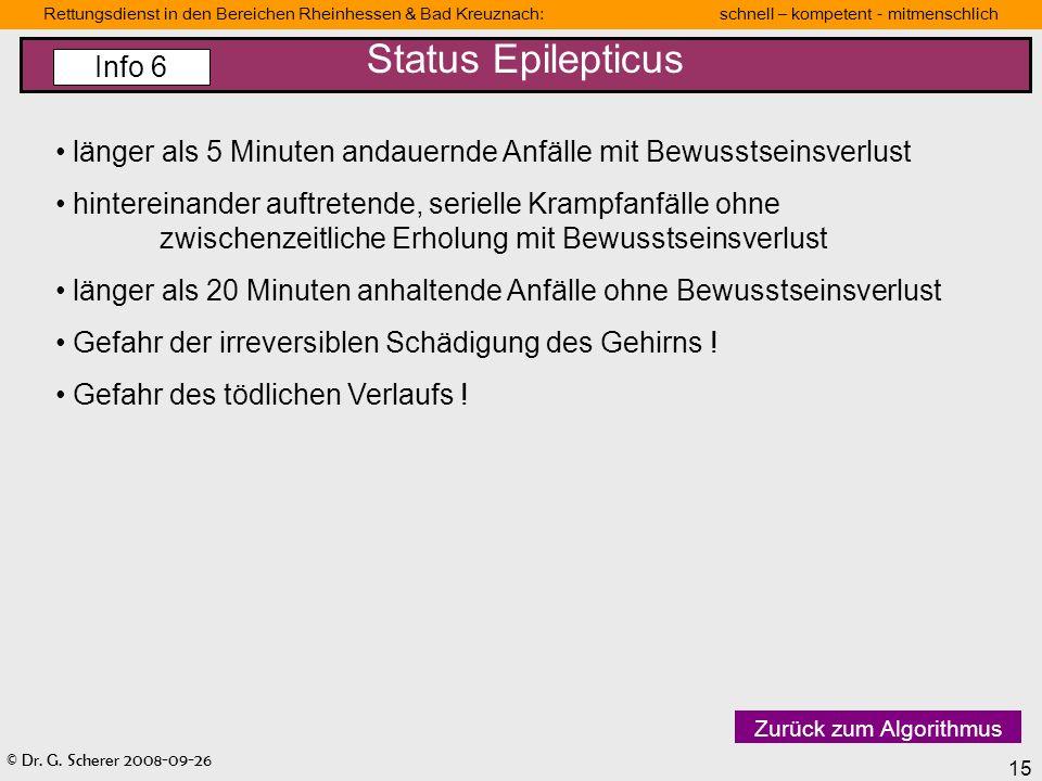 Status Epilepticus Info 6