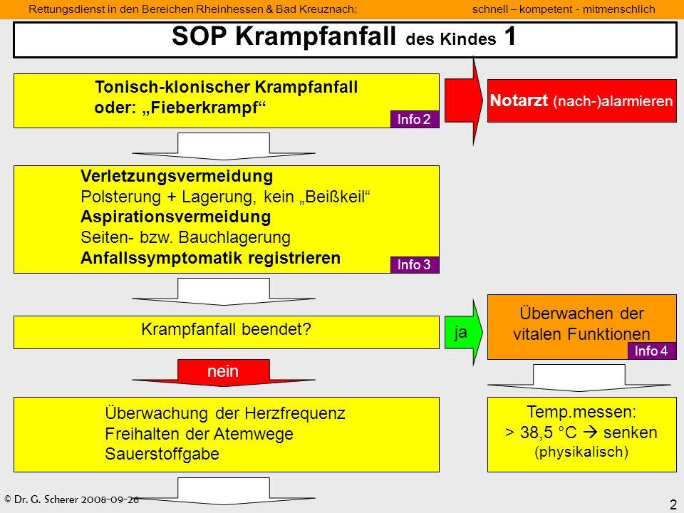 SOP Krampfanfall des Kindes 1