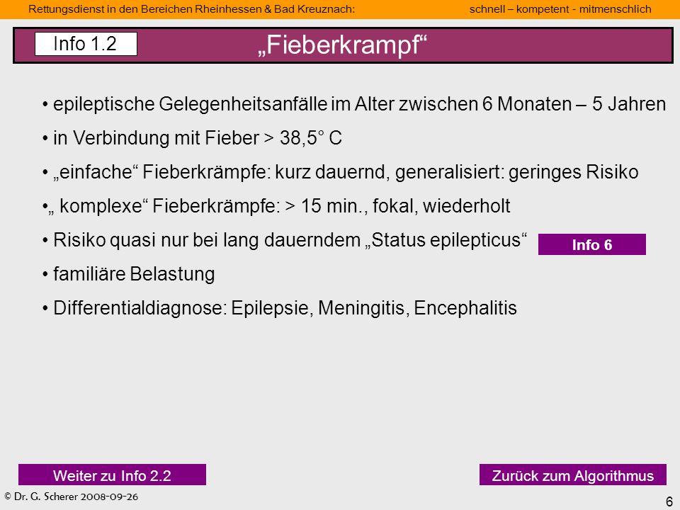 """""""Fieberkrampf Info 1.2. epileptische Gelegenheitsanfälle im Alter zwischen 6 Monaten – 5 Jahren. in Verbindung mit Fieber > 38,5° C."""