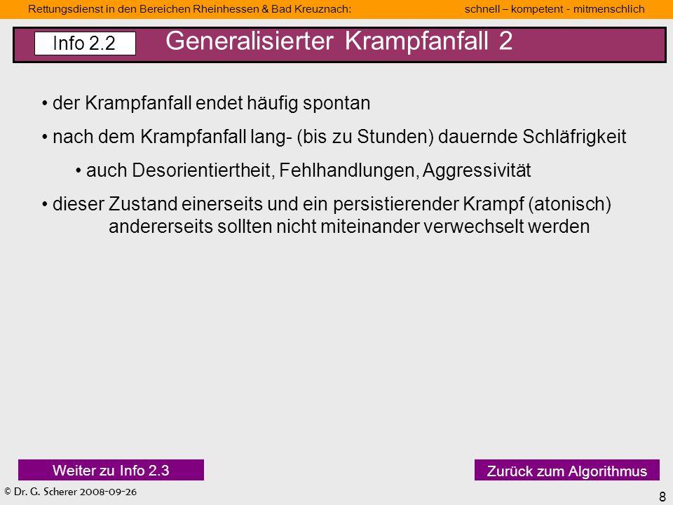 Generalisierter Krampfanfall 2