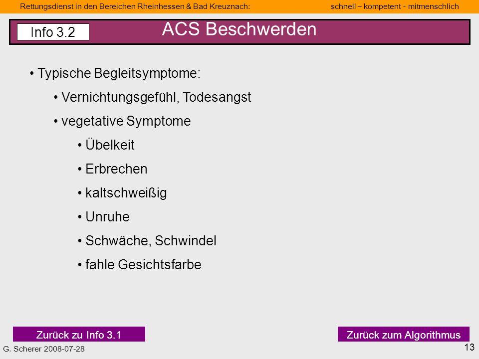 ACS Beschwerden Info 3.2 Typische Begleitsymptome: